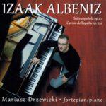 ARSO-CD-029_Izaak_Albeniz-Mariusz_Drzewicki-okladka