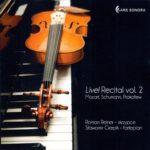 ARSO-CD-083_Live_Recital_vol_2-Mozart_Schumann_Prokofiew-okladka
