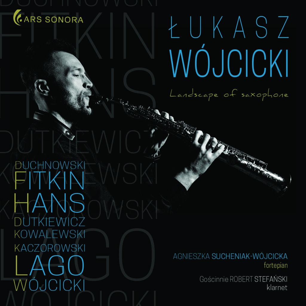 ARSO-CD-126 Landscape of saxophone Łukasz Wójcicki